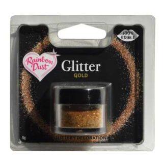 eetbare glitters goud potje 5 gram