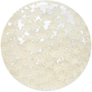 glitter sneeuwvlokken strooisel FunCakes