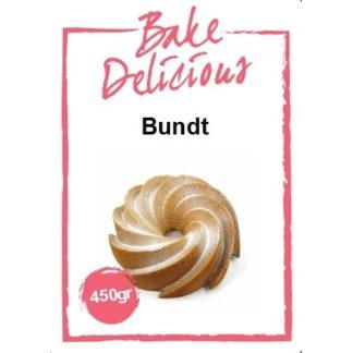 mix voor tulband cake van Bake Delicious