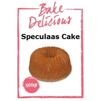 speculaas cake mix van Bake Delicious