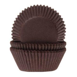 bruine cupcake papiertjes