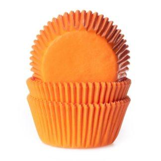 oranje cupcake papiertjes