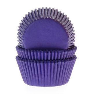 paarse cupcake papiertjes