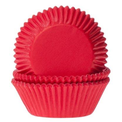 rode cupcake papiertjes