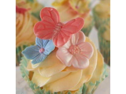 blossom sugar art butterfly cutter & mould