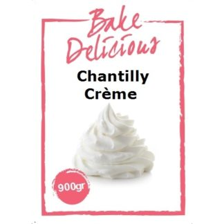 Chantilly crème van Bake Delicious in 900 gram verpakking