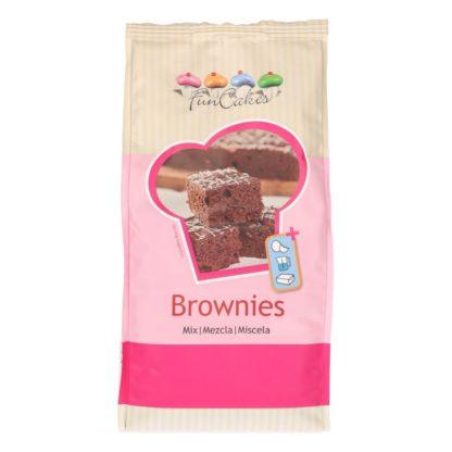 zak mix voor brownies van Funcakes in 1 kilogram verpakking