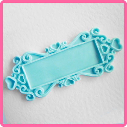 Katy Sue Design Plaque - Rectangle Hearts