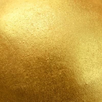 glinsterpoeder geel