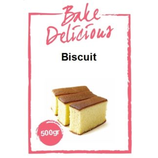 mix voor biscuit van Bake Delicious 500 gram