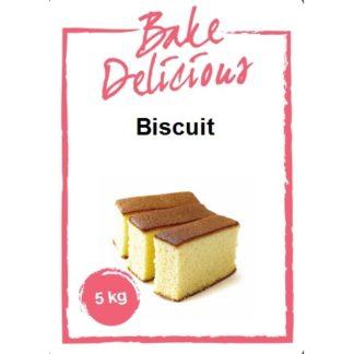bake delicious mix voor biscuit 5 kg