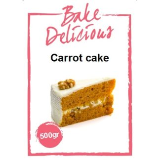 mix voor carrot cake van Bake Delicious