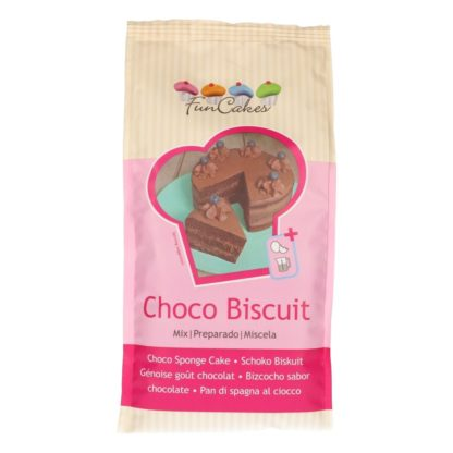 Mix voor Choco Biscuit van FunCakes 1 kilogram verpakking