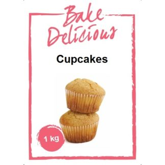 mix voor cupcakes van Bake Delicious zak 1 kg