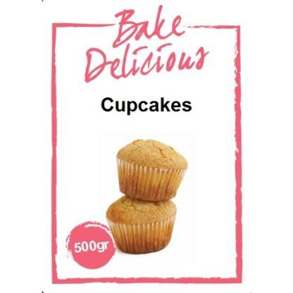 Bake Delicious mix voor cupcakes 500 gram