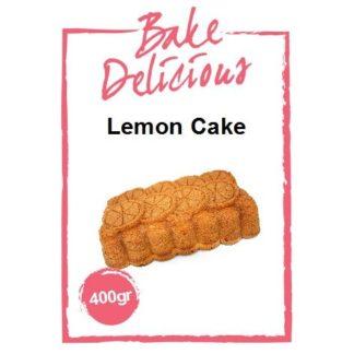 mix voor lemon cake van Bake Delicious