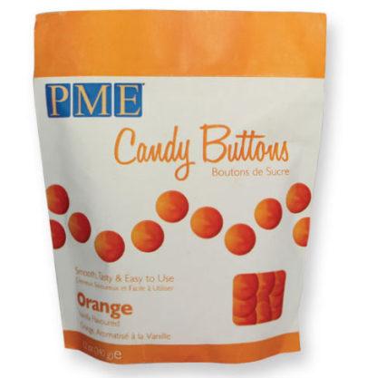 PME candy buttons orange zak 340 gram