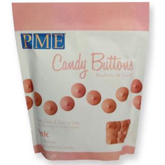 PME Candy Buttons Pink zak 340 gram