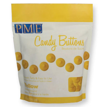 PME Candy Buttons Yellow