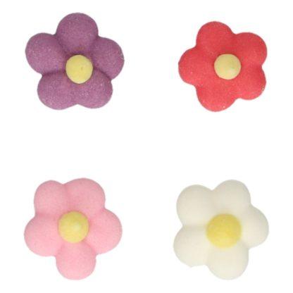 Suikerdecoratie Kleine Bloemen