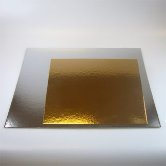 taartkarton vierkant 30cm set 3 stuks
