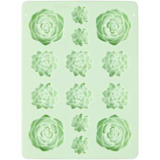 siliconen mold van Wilton voor vetplantjes