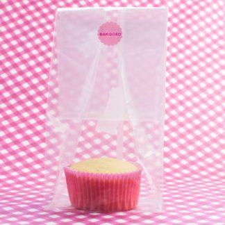 zakjes voor verpakken van cupcakes