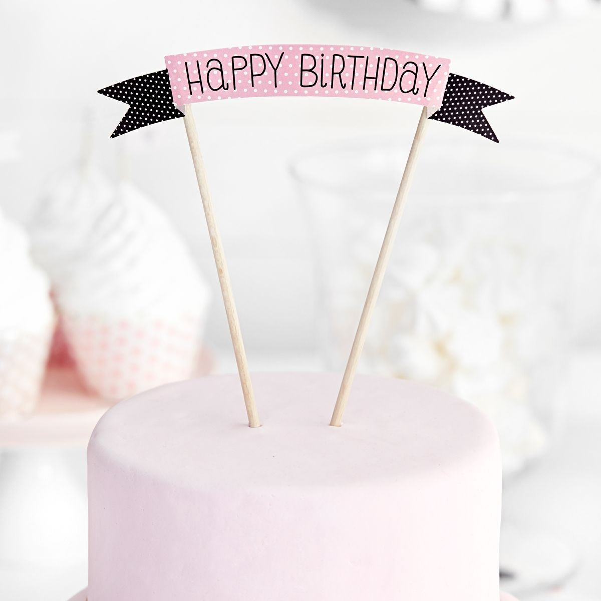 Cake topper Sweets Happy Birthday