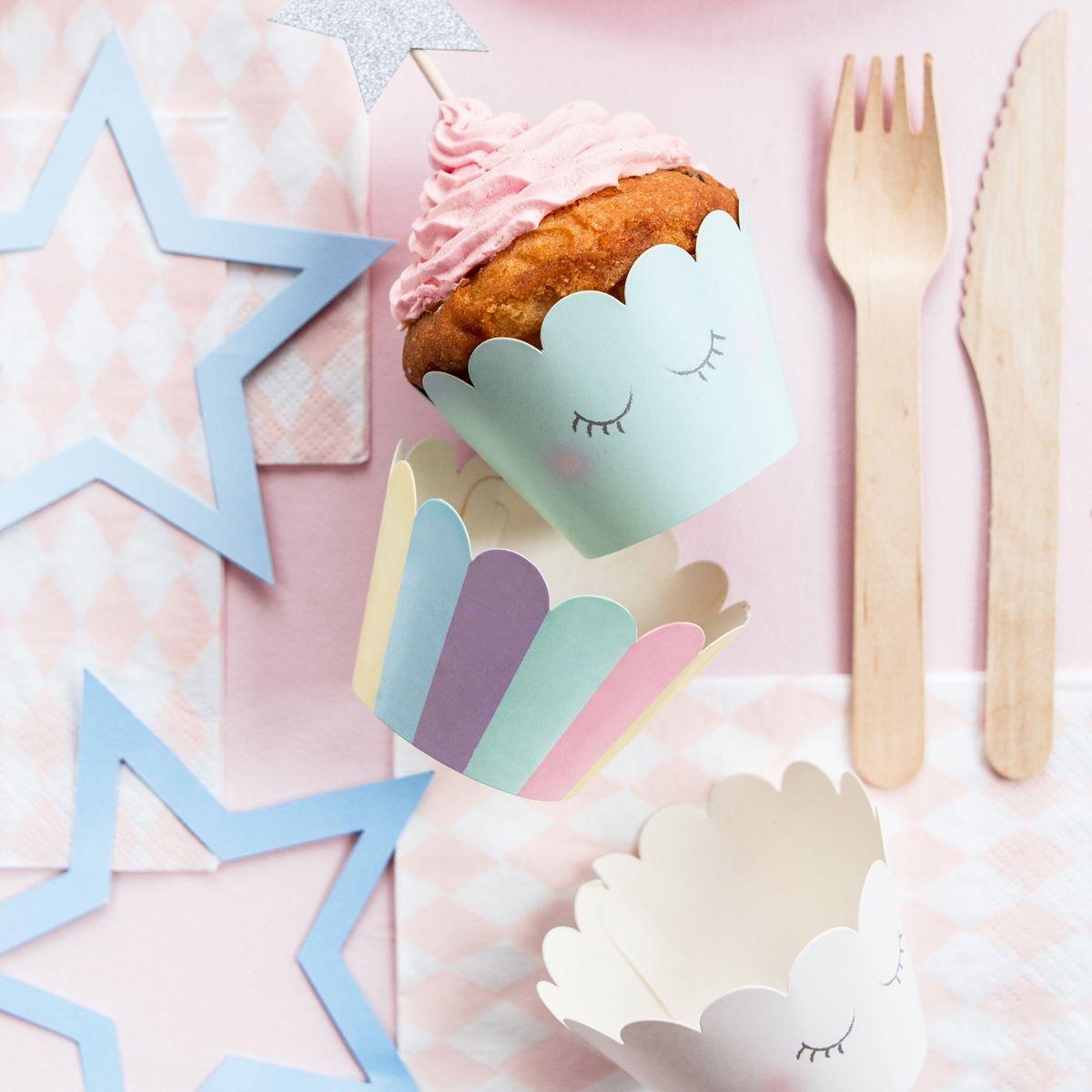 cupcake wrappers unicorn