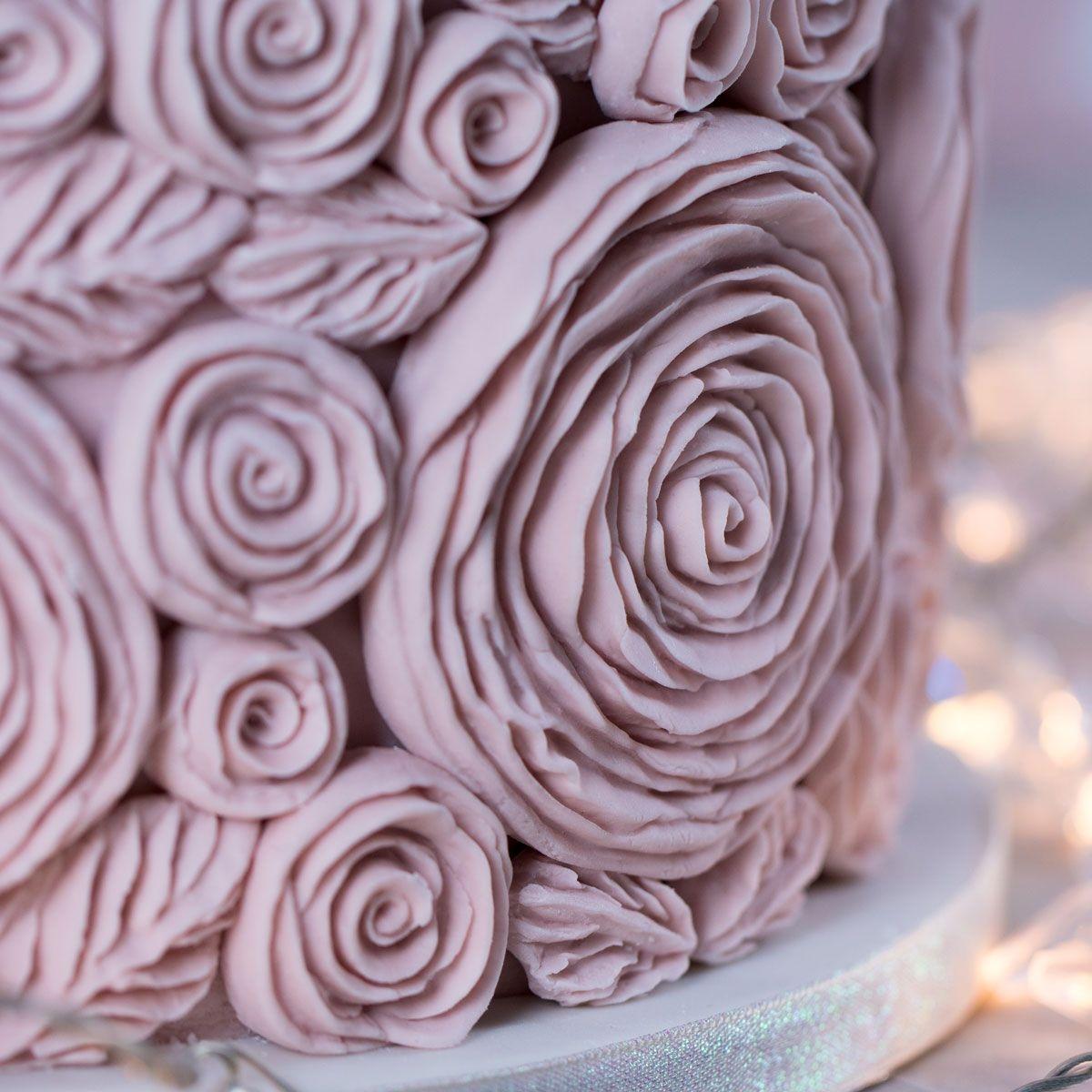 Karen Davies ruffled roses
