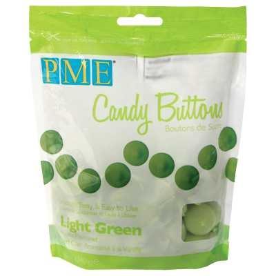pme candy buttons light green zak 260 gram
