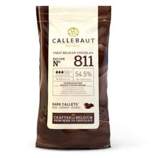 Callebaut chocolade callets puur zak 1 kilogram