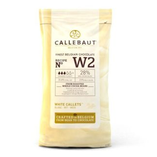 callebaut chocolade callets wit zak 1 kilogram