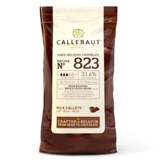 callebaut chocolade callets melk zak 1 kilo