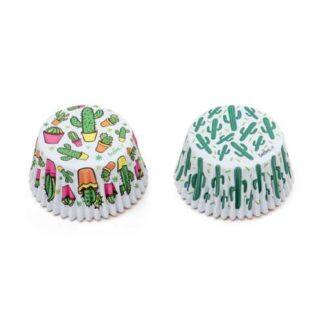 cupcake papiertjes cactus