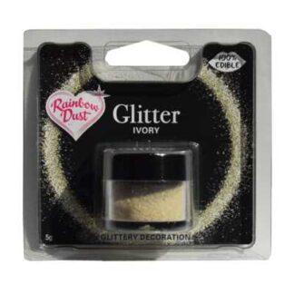 eetbare glitters ivoor potje 5 gram