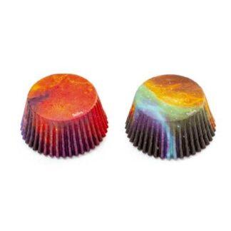 galaxy cupcake papiertjes