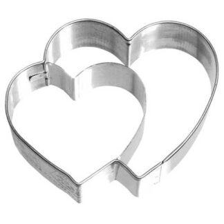 koekjes uitsteker dubbel hart