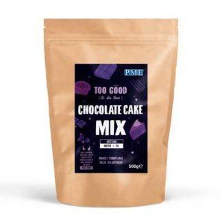 chocolade cake mix alleen water en olie toevoegen