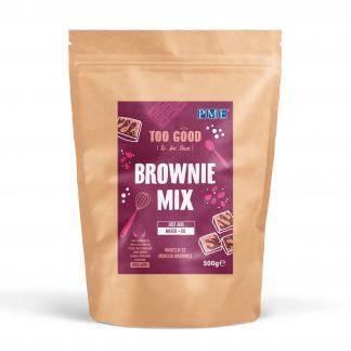brownie mix alleen water en olie toevoegen