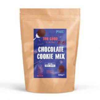 mix voor chocolade koekjes alleen water toevoegen