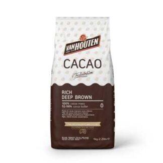 cacaopoeder donkerbruin 750 gram