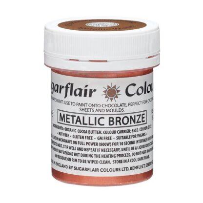verf voor chocolade brons