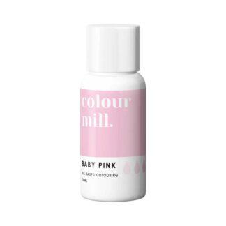 colour mill kleurstof baby roze
