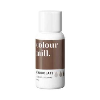 colour mill kleurstof chocolade bruin